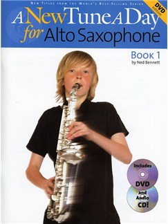 A New Tune A Day: Alto Saxophone - Book 1 (DVD Edition) Books, CDs and DVDs / Videos | Alto Saxophone