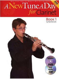 A New Tune A Day: Clarinet - Book 1 (DVD Edition) Books, CDs and DVDs / Videos | Clarinet