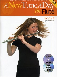 A New Tune A Day: Flute - Book 1 (DVD Edition) Books, CDs and DVDs / Videos | Flute
