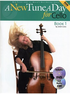 A New Tune A Day: Cello - Book 1 (DVD Edition) Books, CDs and DVDs / Videos | Cello