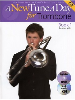 A New Tune A Day: Trombone - Book 1 (DVD Edition) Books, CDs and DVDs / Videos | Trombone