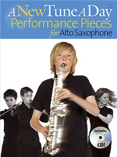 A New Tune A Day: Performance Pieces (Alto Saxophone) Books and CDs | Alto Saxophone (with Chord Symbols)