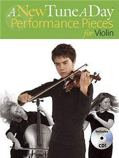 A New Tune A Day: Performance Pieces (Violin) CD et Livre | Violon (Symboles d'Accords)