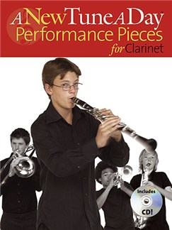 A New Tune A Day: Performance Pieces (Clarinet) Books and CDs | Clarinet (with Chord Symbols)
