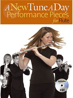 A New Tune A Day: Performance Pieces (Flute) CD et Livre | Flûte Traversière (Symboles d'Accords)