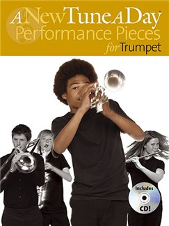 A New Tune A Day: Performance Pieces (Trumpet) CD et Livre | Trompette (Symboles d'Accords)