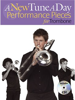 A New Tune A Day: Performance Pieces (Trombone) Books and CDs | Trombone (with Chord Symbols)