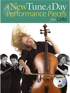 A New Tune A Day: Performance Pieces (Cello) Books and CDs | Cello (with Chord Symbols)