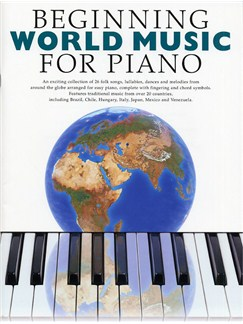 Beginning World Music For Piano Books | Piano (with Chord Symbols)