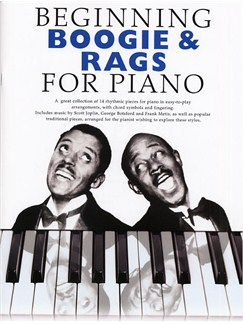 Beginning Boogie And Rags For Piano Books | Piano