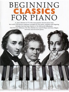 Beginning Classics For Piano Books | Piano