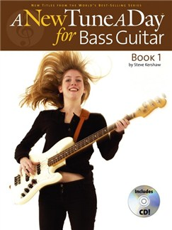 A New Tune A Day: Bass Guitar - Book 1 (CD Edition) Books and CDs | Bass Guitar