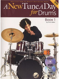 A New Tune A Day For Drums - Book One (Book, CD And DVD) Books, CDs and DVDs / Videos | Drums