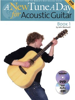 A New Tune A Day: Acoustic Guitar - Book 1 (DVD Edition) Books, CDs and DVDs / Videos | Guitar