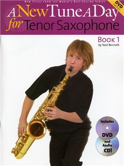 A New Tune A Day: Tenor Saxophone - Book 1 (DVD Edition) Books, CDs and DVDs / Videos | Tenor Saxophone