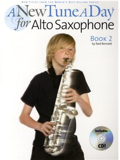 A New Tune A Day: Alto Saxophone - Book 2 (CD Edition) Books and CDs | Alto Saxophone
