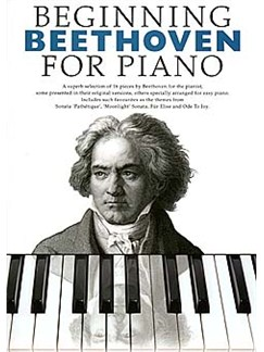 Beginning Beethoven For Piano Books | Piano