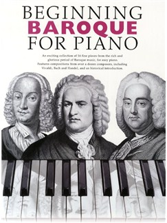 Beginning Baroque For Piano Books | Piano