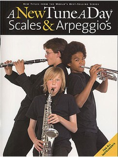 A New Tune A Day: Scales & Arpeggios Books | All Instruments