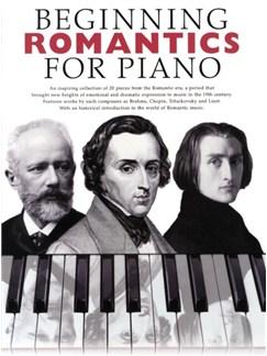 Beginning Romantics For Piano Books | Piano