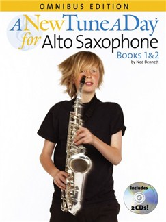 A New Tune A Day: Alto Saxophone - Books 1 And 2 Books and CDs | Alto Saxophone