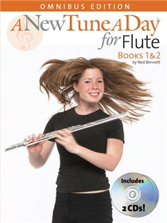 A New Tune A Day: Flute - Books 1 And 2 Books and CDs | Flute
