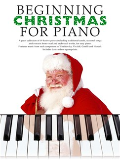 Beginning Christmas For Piano Books | Piano, Vocal & Guitar
