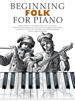 Beginning Folk For Piano Books | Piano