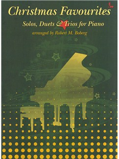 Christmas Favourites: Solos, Duets And Trios For Piano Bog | Klaverduet