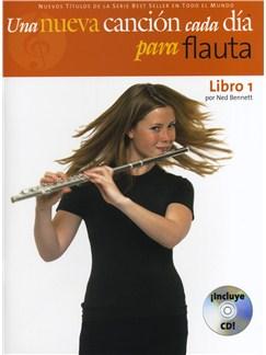 Una nueva canción cada día para flauta - Libro 1 CD y Libro | Flauta