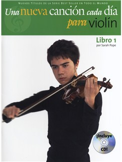 A New Tune A Day: Violin - Book/CD (Spanish Edition) Bog og CD | Violin