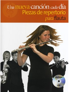 A New Tune A Day: Performance Pieces - Flute - Book/CD (Spanish Edition) Books and CDs | Flute