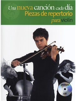 A New Tune A Day: Performance Pieces - Violin - Book/CD (Spanish Edition) Books and CDs | Violin