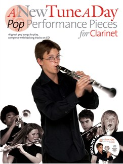 A New Tune A Day: Pop Performance Pieces - Clarinet Books and CDs | Clarinet