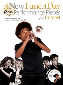 A New Tune A Day: Pop Performance Pieces - Trumpet Books and CDs | Trumpet