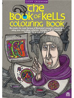 The Book Of Kells Colouring Book Books |