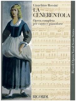 Gioacchino Rossini: La Cenerentola - Opera Vocal Score Books | Opera