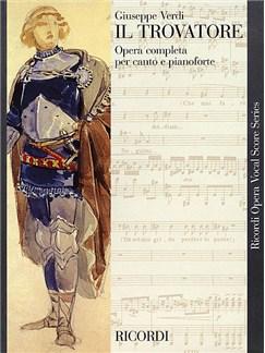 Giuseppe Verdi: Il Travatore (Vocal Score) Books   Voice, Piano Accompaniment