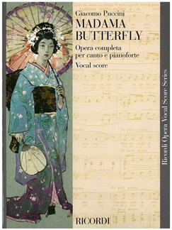 Giacomo Puccini: Madame Butterfly (Vocal Score) Books | Voice, Piano Accompaniment