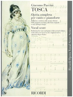 Giacomo Puccini: Tosca - Opera Vocal Score Books | Opera