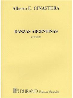 Alberto E. Ginastera: Danzas Argentinas Books | Piano