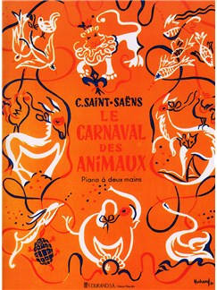 Camille Saint-Saens: Carnival Des Animaux (Piano) Books | Piano