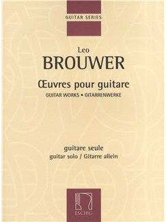 Leo Brouwer: Guitar Works Books | Guitar