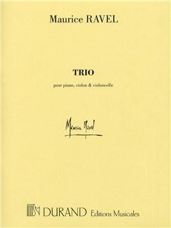 Maurice Ravel: Piano Trio (Parts) Books | Piano, Violin, Cello