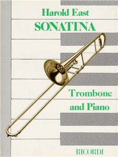 Harold East: Sonatina For Tenor Trombone Books | Tenor Trombone, Piano Accompaniment
