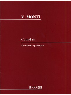Vittorio Monti: Czardas (Violin and Piano) Books | Violin, Piano Accompaniment