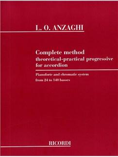 Luigi Anzaghi: Complete Method For Accordion Books | Accordion