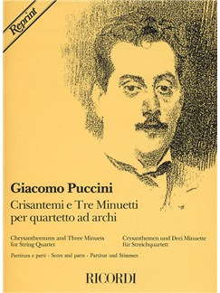 Giacomo Puccini: Chrysanthemums And Three Minuets Books | String Quartet