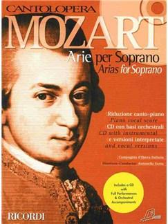 Cantolopera: Mozart Arias For Soprano Books and CDs | Soprano, Piano Accompaniment