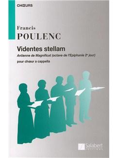 Francis Poulenc: Videntes Stellam (SATB) Books | SATB